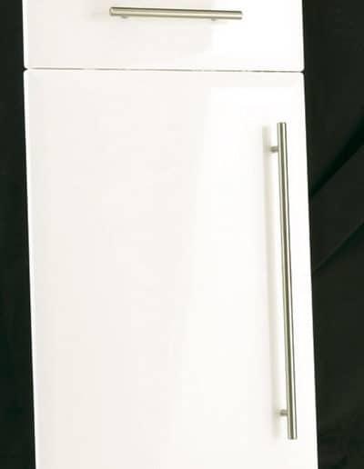 High Gloss White Lincoln Doora