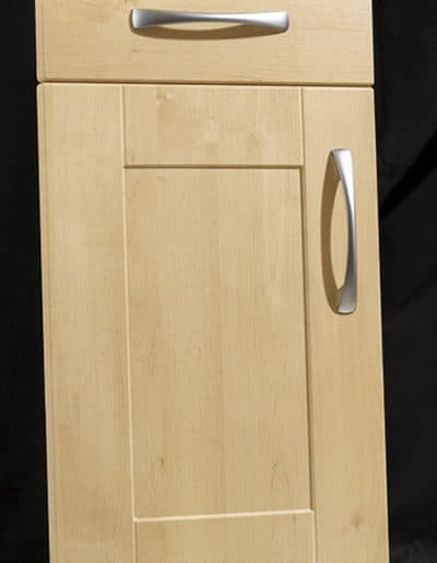 Swiss Pear Shaker Door